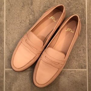 J. Crew Soft Pink Ryan Loafers